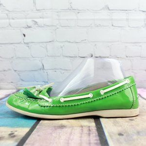 LL BEAN Flats Slip-on Boat Shoes Size 7.5